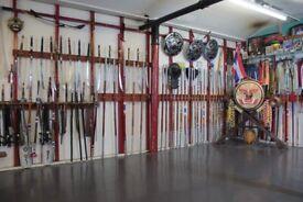Classes in Muay Thai (Thai Boxing) and Thai martial arts, Sitsiam Camp, Kru Tony Moore. Ashton.