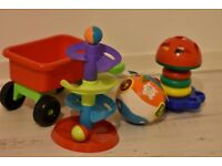 Vtech crawl baby ball and other toys
