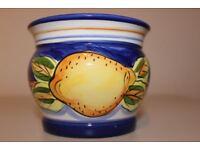 Brand New Regency Fine Arts - Lovely Lemon Pots!