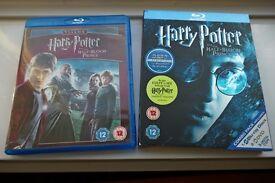 Harry Potter , The Half Blood Prince Blu Ray