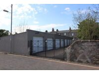 SECURE STORAGE WITH POWER AND WATER- Large single garage for let in the West End