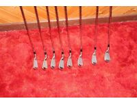 Superb set of Titleist AP1 714 irons. Less than 2 years old and in great condition.