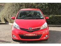 Toyota Yaris VVT-I ICON PLUS (red) 2014-03-31