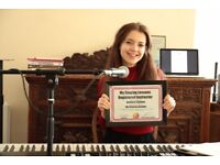 Vocal coach/music teacher - lessons to suit your needs!