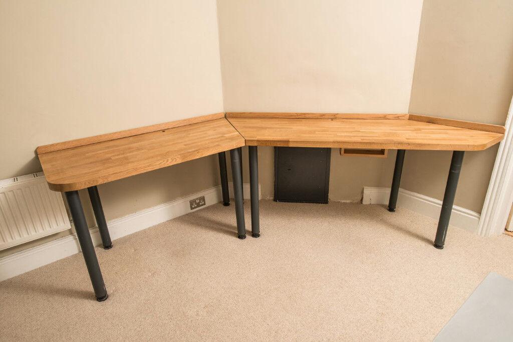 custom made office desks. Custom Made Office Desk In Beautiful Oak Desks