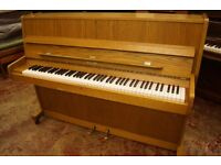 Modern upright piano, playing great, tuned and delivery available anywhere in the UK.