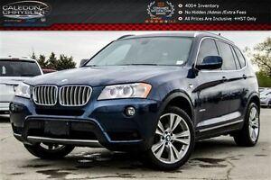 2014 BMW X3 xDrive35i|Navi|Pano Sunroof|Backup Cam|Bluetooth|H