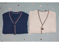 Baby Boy Button Down Cardigans, 9-12 months – Mothercare, excellent condition