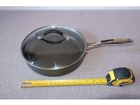 Cook's Collection Hard Anodised Saute Pan 26cm