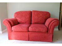 High back 2-seater sofa