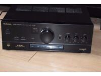TECHNICS AMP 300W DUAL AUX IN/JAPAN CAN BE SEEN WORKING