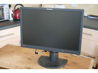 "Lenovo 22"" computer monitor"