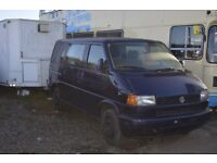 LEFT HAND DRIVE VOLKSWAGEN TRANSPORTER, DRIVES VERY WELL, EXPORT PAPERS IN HAND, GOOD LOADING SPACE