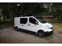 Campervan, Vauxhall, VIVARO, with all the extras you need to get away !