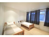 BEAUTIFUL TWIN ROOM IN FINCHLEY ROAD ONLY 195PW ALL INCLUSIVE