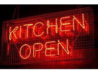 Experienced Kitchen Staff