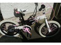 Girls mid size bike.