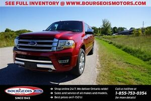 2017 Ford Expedition Max *DEMO* PLATINUM 4X4 3.5L V6 MOONROOF