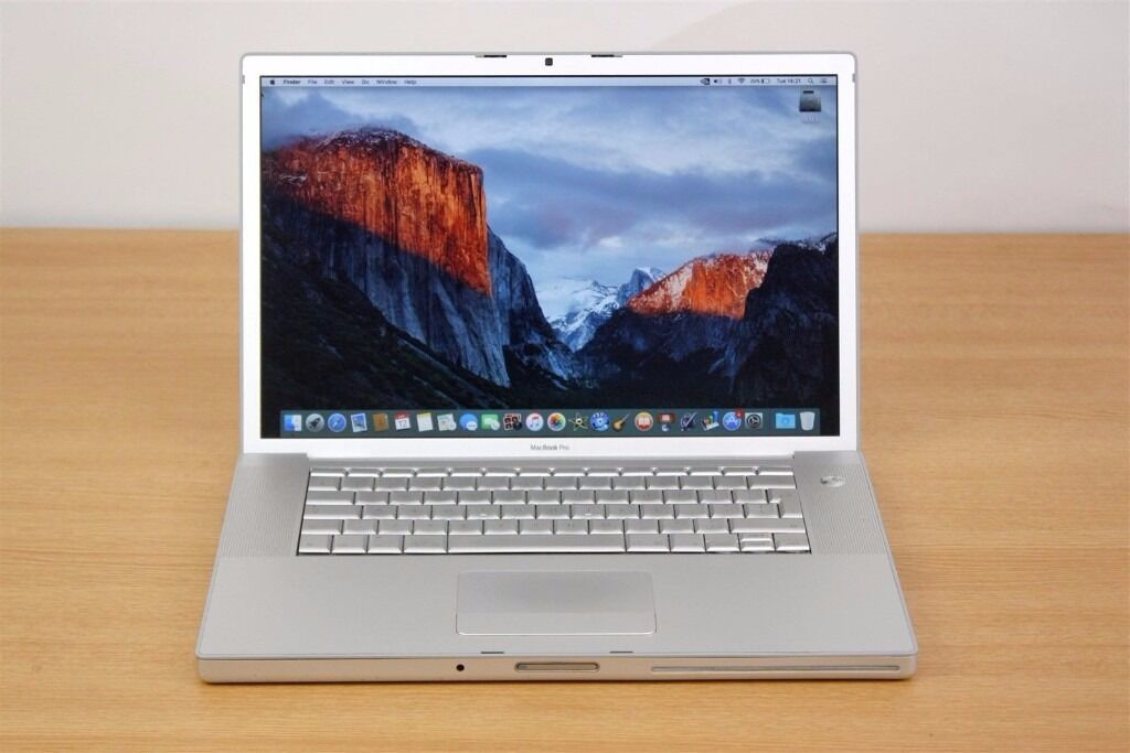 Macbook Pro 15 inch Apple Mac laptop 2.4ghz processor 4gb ram in full working orderin Eltham, LondonGumtree - Macbook Pro 15 inch Apple Mac laptop 2.4ghz processor 4gb ram in full working order Intel Core 2 duo processor 2.4ghz x2 15 inch widescreen 200gb hard drive 4gb ram memory Nvidia Geforce GT 8600M video card webcam built in wireless dvd rw drive iLIFE...