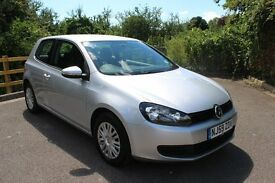 FROM £30 PER WEEK VOLKSWAGON GOLF S 3DR HATCHBACK 1.4 PETROL MANUAL SILVER LOW MILES GREAT ECONOMY