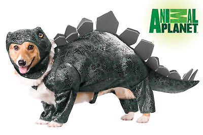 Stegosaurus Dinosaur Dog Costume Animal Planet Pet](Stegosaurus Costume)