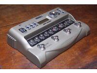 Line 6 JM4 Looper Vocal / Guitar / Microphone Loop Station Effects Pedal | Silver