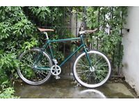 NEW IN!! !!! Steel Frame Single speed road bike fixed gear racing fixie bicycle F89II