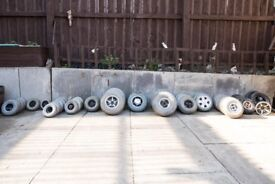 Mobility scooter wheels £10 each