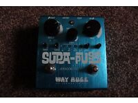 Way Huge Supa Puss. Analog delay pedal