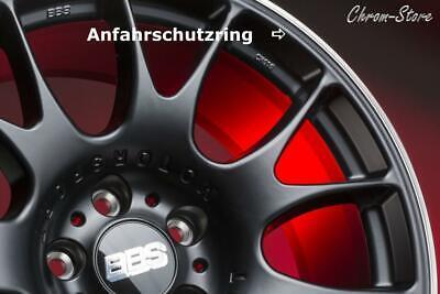 BBS 18 Zoll Edelstahl Anfahrschutzring CH,CH-R, Anfahrschutz poliert + Anleitung