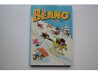 21 BEANO ANNUALS IN EXCELLENT CONDITION MOST OF THEM ARE VERY CLOSE TO MINT CONDITION
