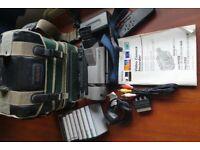 Sony TRV65E Hi-8 tape video Camcorder 18xzoom Nightshot Steadyshot