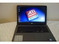 16GB RAM DDR4, Intel i7 7th Gen, Dell Gaming Laptop, Warranty, 4GB Graphics DDR5 GTX, SSD, Full HD