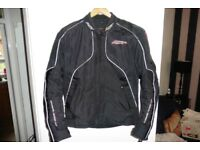 RST ARMOURED GORETEX MOTORCYCLE JACKET SIZE L
