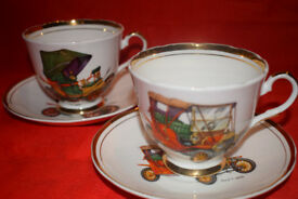 Bone China - Pair of Collectable Cup&Saucers