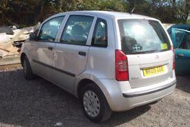 FIAT IDEA Active, 1.4 Petrol, 5 Door Hatchback, 2005-05 plate