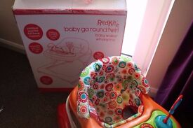 Boxed Redkite baby walker hardly used