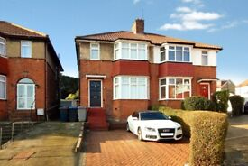 Four Bedroom Semi-Detached House to rent in Stancroft NW9 0SJ