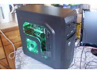 Gaming PC Quad Core 860K 3.7GHz 16GB RAM 1TB HDD NVIDIA GT 1030 2GB GDDR5 GPU
