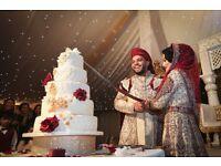 Female Asian Wedding Photographer & Asian wedding media team
