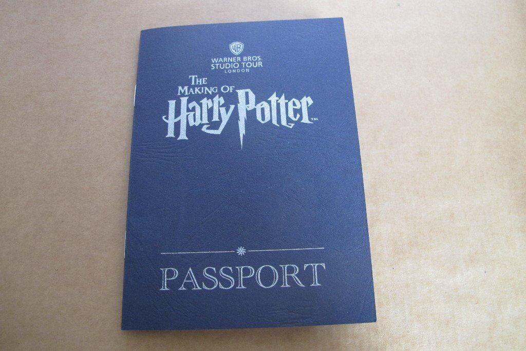 Harry Potter Passport - Warner Bros. Studios