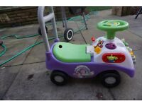 Toddler toy story outdoor little car