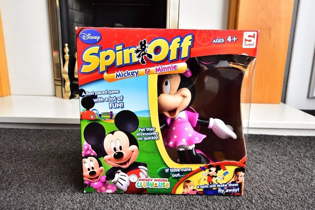 Spin off Minnie Mouse game