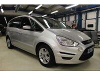 Ford S-Max ZETEC TDCI [1 OWNER / 7 SEATS / PARKTRONIC] (moondust silver metallic) 2014