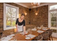 Exceptional Waiter/Waitress ~ Charlotte's Place, Ealing Common ~ £8.00 - £9.00 ph