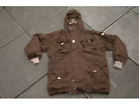 Over Dyed Brown SAS Windproof Smock Size is LARGE