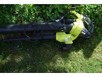 ryobi electric garden blower