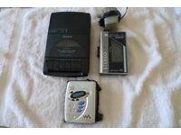 Cassete playing equipment