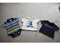 Baby boys clothes bundle, 3-6 months, Gap, Bench, Baker