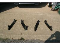 2PAIRS OF EURO QUICK HITCH BRACKETS TO FIT VARIOUS FRONT LOADERS